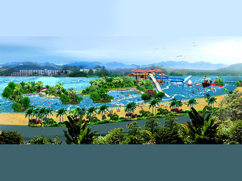 BNWPD 09 - Water Park Design & Project In Indonesia - Beston Company