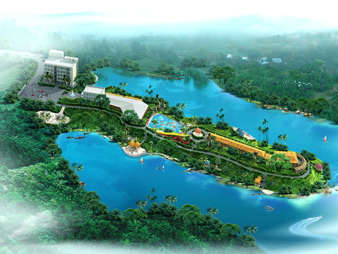 BNWPD 12 - Water Park Design & Project In Indonesia - Beston Company