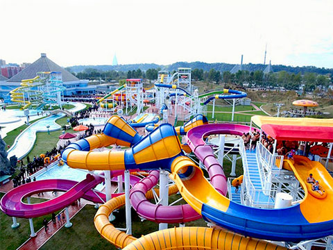 BNWPR 01 - Water Park Rides for Sale Indonesia - Beston Factory
