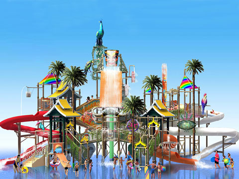 BNWPR 03 - Water Park Rides for Sale Indonesia - Beston Factory