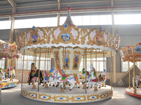BNCR 01 - 16-Seat Luxury Carousel For Sale Indonesia- Beston Factory
