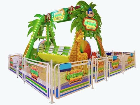 BNHS 01 - Kiddie Happy Swing Ride For Sale Indonesia- Beston Factory