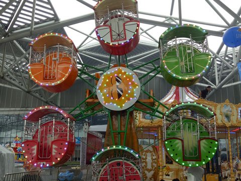 BKFW 01 - Single-face Kiddie Ferris Wheel For Sale Indonesia - Beston Supplier