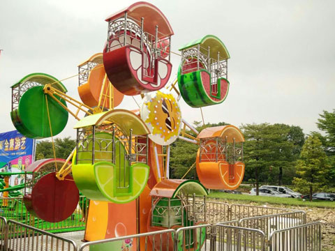 BKFW 02 - Double-face Kiddie Ferris Wheel For Sale Indonesia - Beston Factory