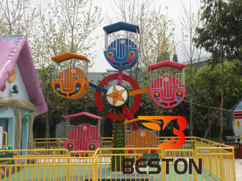 BKFW 03 - Single-face Kiddie Ferris Wheel For Sale Indonesia - Beston Supplier