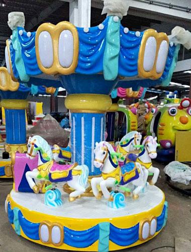 BNMC 01 - 6-Seat Mini Carousel Ride For Sale Indonesia - Beston Supplier