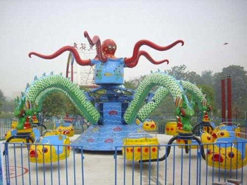 BNOR 01 - Octopus Ride For Sale Indonesia - Beston Factory