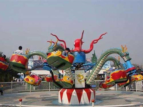 BNOR 02 - Octopus Ride For Sale Indonesia - Beston Supplier